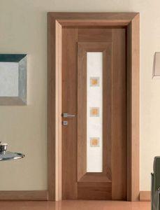 Mondrian Art. 913/QQ/04, Porte avec insert décoratif en albâtre