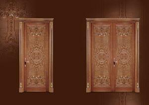 P100 Porte, Porte sculptée pour vivre dans le style de luxe classique