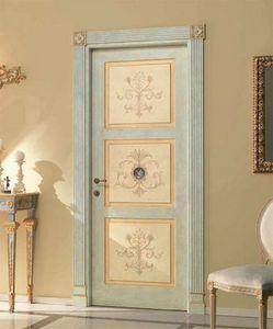 Paestum Art. 755/QQ/P, Porte avec décorations florales