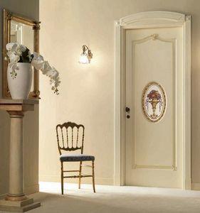 Villa Grabau Art. 713 OV/QQ/A/AP/V, Porte classique avec décoration centrale