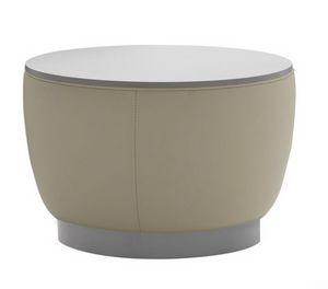 Diadema 04012, Table basse pouf avec plateau en bois