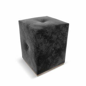 Ebon Art. 635, Pouf recouvert de tissu