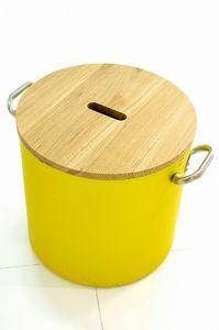 Chef - Siège, Récipient pouf avec forme de pot, multifonction