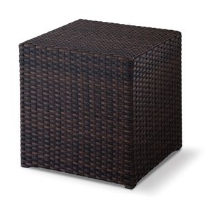 FT Pouff, Sessions bas entrelacés, en forme de cube, en plein air