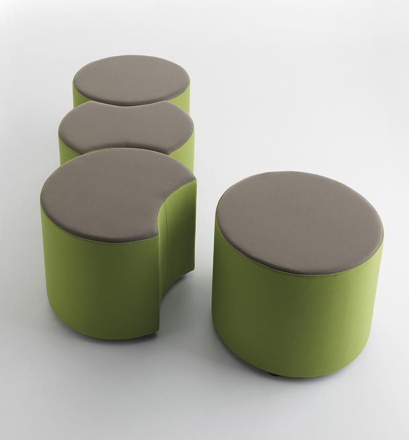 Kreo, Pouf modulable pour les salles d'attente