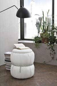 PASCIA PF606, Puff - table de chevet avec des récipients pour fins résidentielles