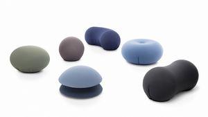 Tato Collection, Collection de poufs de différentes formes et couleurs