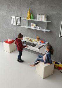 a106 daisy bureau, Bureau moderne pour les chambres d'enfants, avec mécanisme d'extension