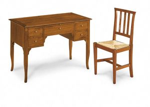 Art. 101, Bureau en bois avec tiroirs