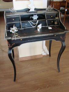 Art. 290/6, Bureau laqué classique pour la maison, avec 6 tiroirs