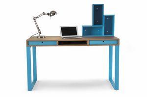 Easy desk 01, Bureau avec tiroirs