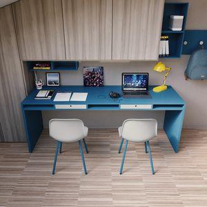 Easy desk 02, Grand bureau avec tiroirs