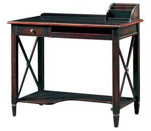 Ilario FA.0037, PC support bureau, accessoires faits à la main, de style antique