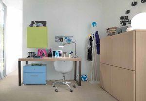 Linear desk 02, Bureau au design minimal