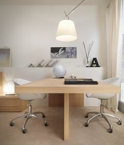 Linear desk 04, Bureau double élégant