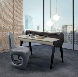 SC31 bureau, Bureau en bois bicolore