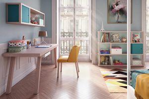 Tao desk, Bureau en bois au design moderne