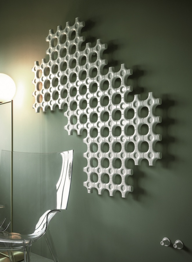 Add-On, Radiateur pour salle de bains, de taille personnalisée, forme personnalisable