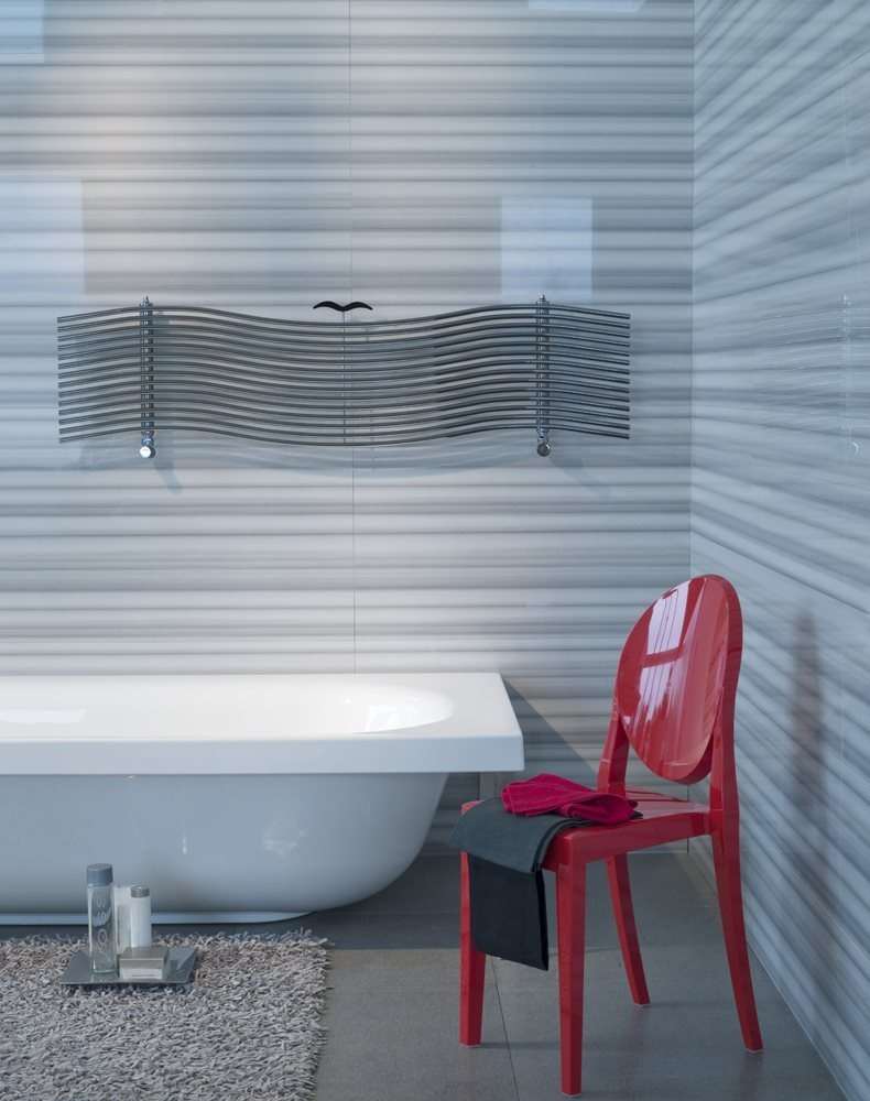 Albatros, Radiateur horizontal pour salle de bain