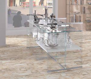 Glassystem comp.03, Vitrine Expositive pour les magasins
