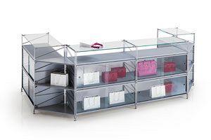 Socrate Compteurs, Compteur modulaire pour les magasins de différentes tailles et finitions