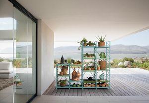 Socrate outdoor, Système de mobilier d'extérieur modulaire
