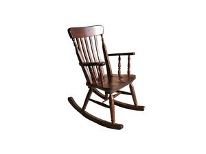 Old river, Rocking chair, en pin, pour taverne rustique