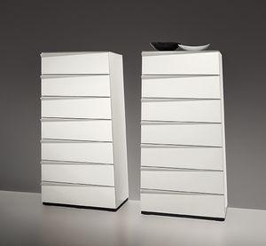 BABEL, inclin�e unit� 7 tiroirs, la forme trap�zo�dale