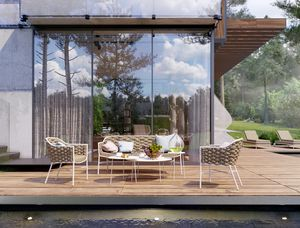 LOVE EVO, Ensemble de sièges pour mobilier d'extérieur