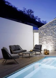 Santa Cruz lounge, Ensemble de salon de patio