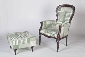 Art. 588, Pouf de style recouvert de coton, en différentes couleurs