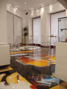 Artistic resin floors 2, Revêtements de sol en résine, pour les magasins et les bars