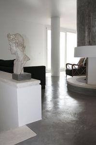Rendered concrete resin floors, Sol en résine, pour les bureaux