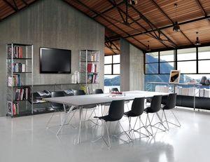 Socrate meeting room, Meubles modulaires pour les salles de réunion et bureaux