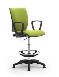 Sprint stool, Tabouret confortable et réglable pour une utilisation prolongée