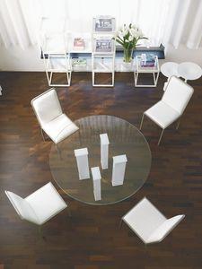 dl101 toronto, Table avec plateau en verre pour salle à manger