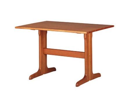 603, Table rectangulaire rustique, en hêtre, pour la cuisine