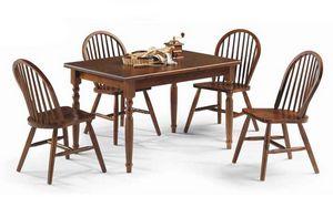 Bormio, Table en bois rustique, pour les restaurants et les pubs