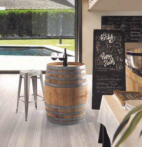 Botte, Baril utilisable comme table pour les bars à vin