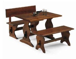 Rustica-T, Table rustique pour les restaurants de ferme