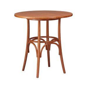 TV01, Tables en bois courbé hêtre, style rustique