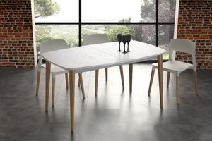 Art. 622 Olaf, Table extensible en bois massif