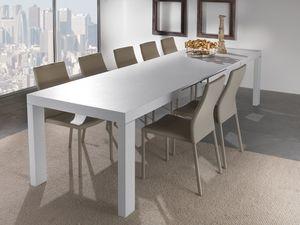 Art. 627 Wind, Table extensible avec plusieurs extensions, disponible en différentes finitions
