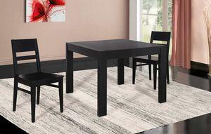Art. 660, Table extensible avec plateau carré