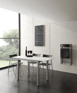 Art. 665 Micro Table, Table extensible de petites dimensions