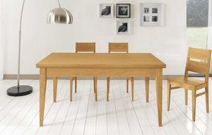 Art. 665, Table au design contemporain, avec rallonges
