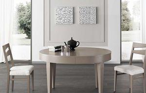 Art. 680, Table ovale à plateau extensible