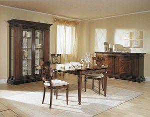 Caravaggio Caravaggio, Table classique avec des extensions de pression