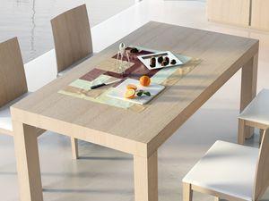 Compléments Table 05, Table en bois extensible, pour une utilisation du contrat