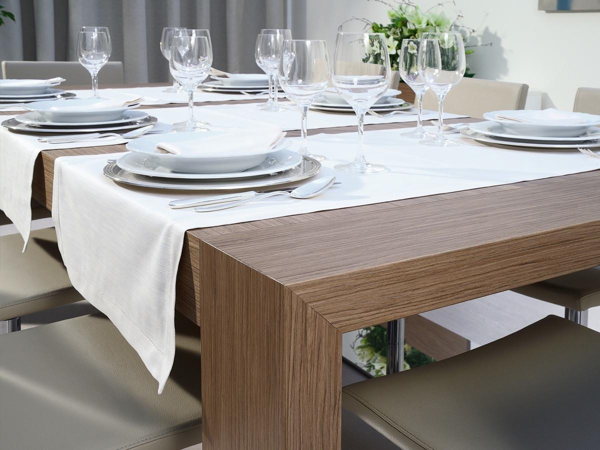 Compléments Tables et Consoles 03, Table rectangulaire extensible pour salle à manger